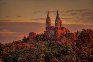 Iconic Holy Hill of Wisconsin